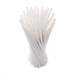 Papírová brčka (balení 250 ks)
